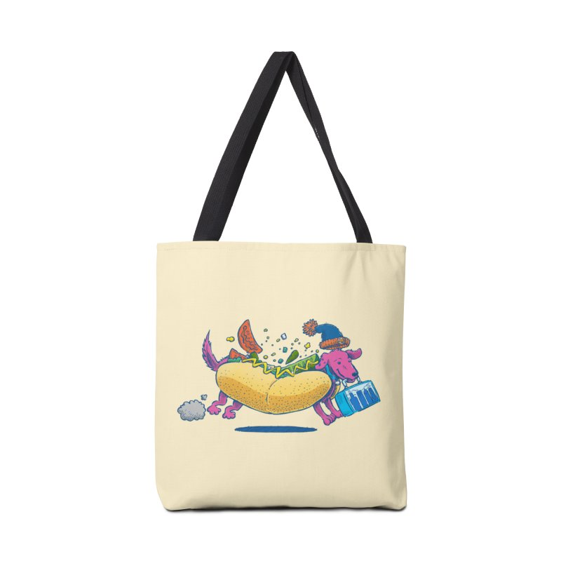 Chicago Dog: Lunch Pail Accessories Bag by nickv47