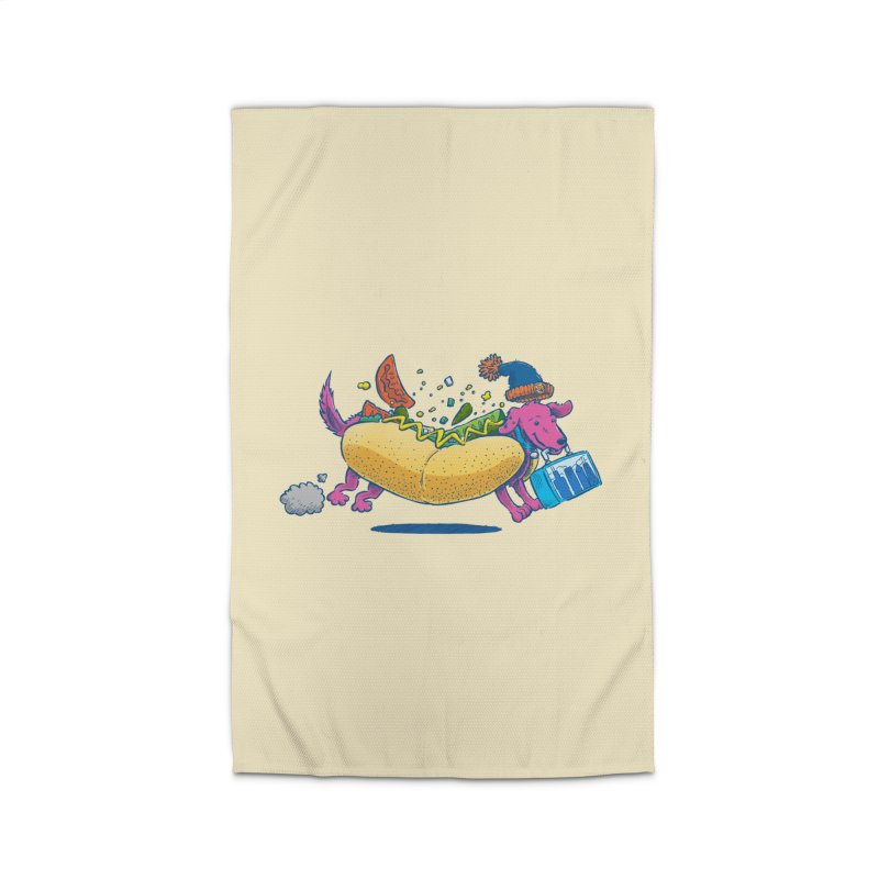 Chicago Dog: Lunch Pail Home Rug by nickv47