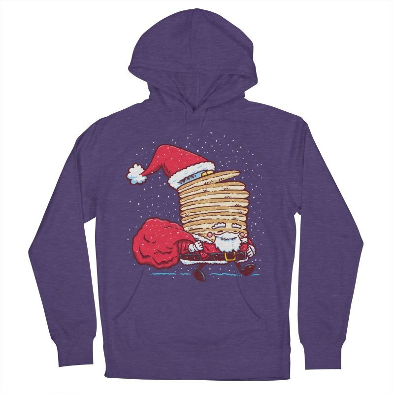Santa Pancake Men's Pullover Hoody by nickv47