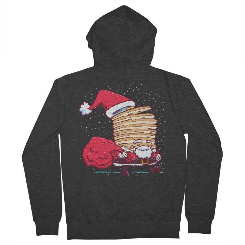 Santa Pancake Women's Zip-Up Hoody by nickv47