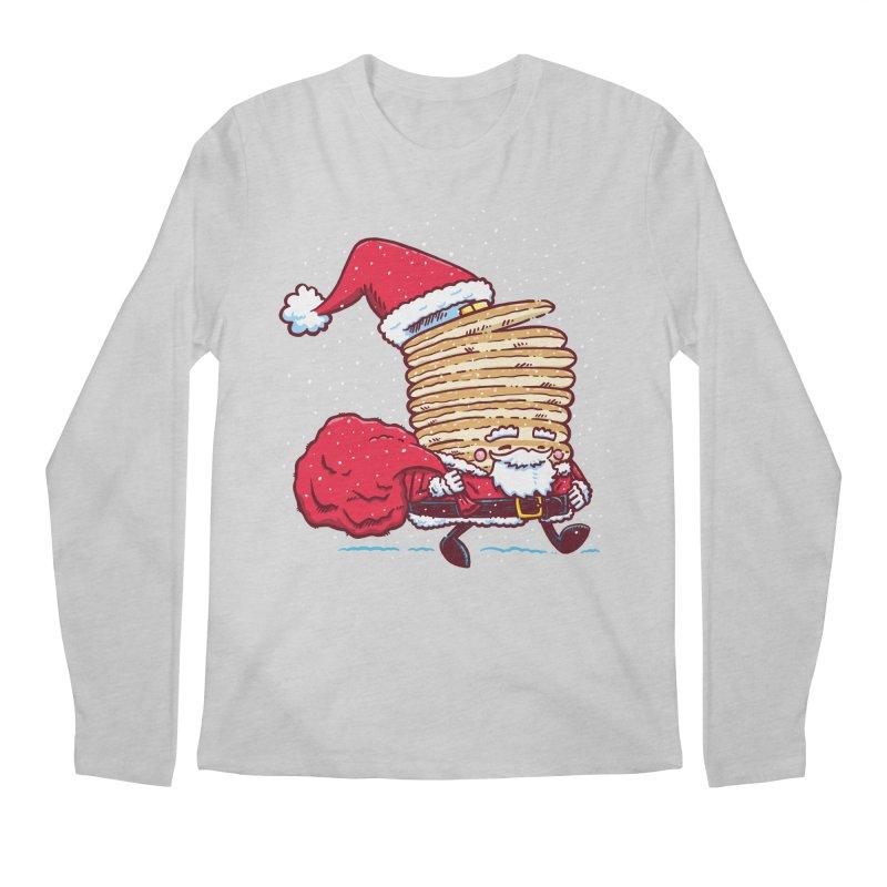 Santa Pancake Men's Longsleeve T-Shirt by nickv47