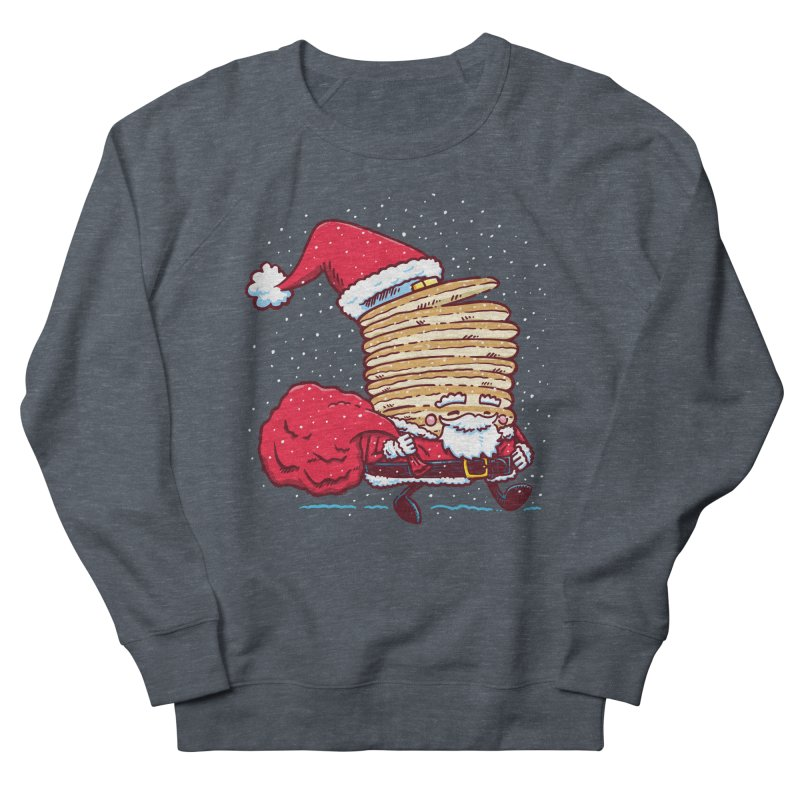 Santa Pancake Women's Sweatshirt by nickv47