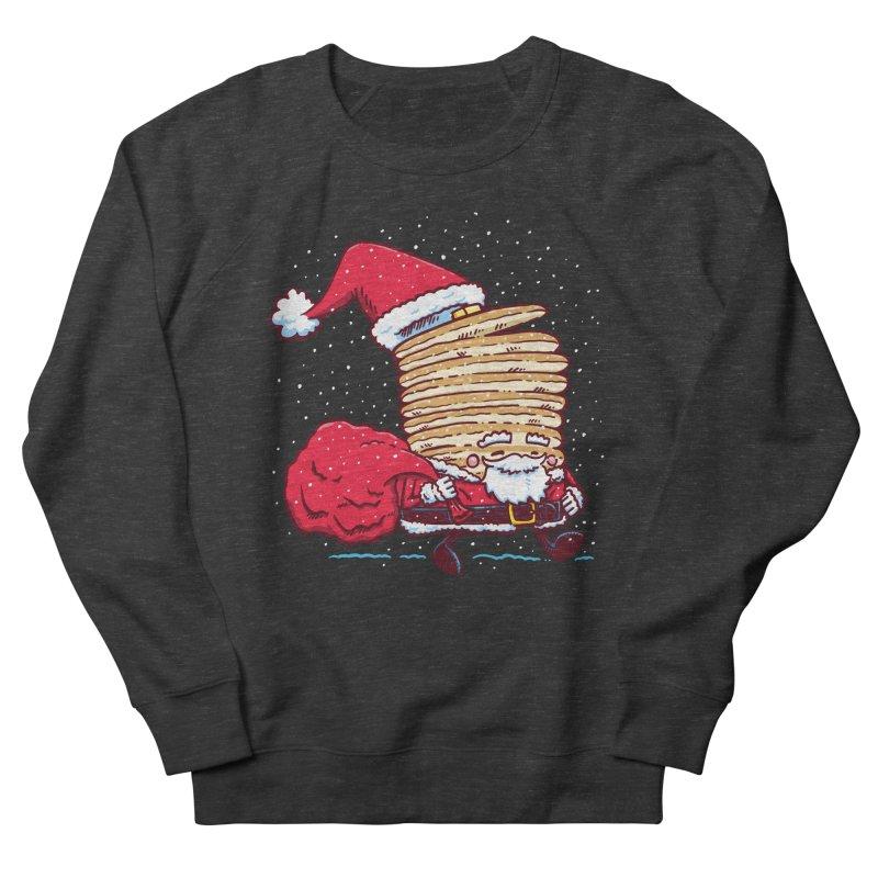 Santa Pancake Men's Sweatshirt by nickv47