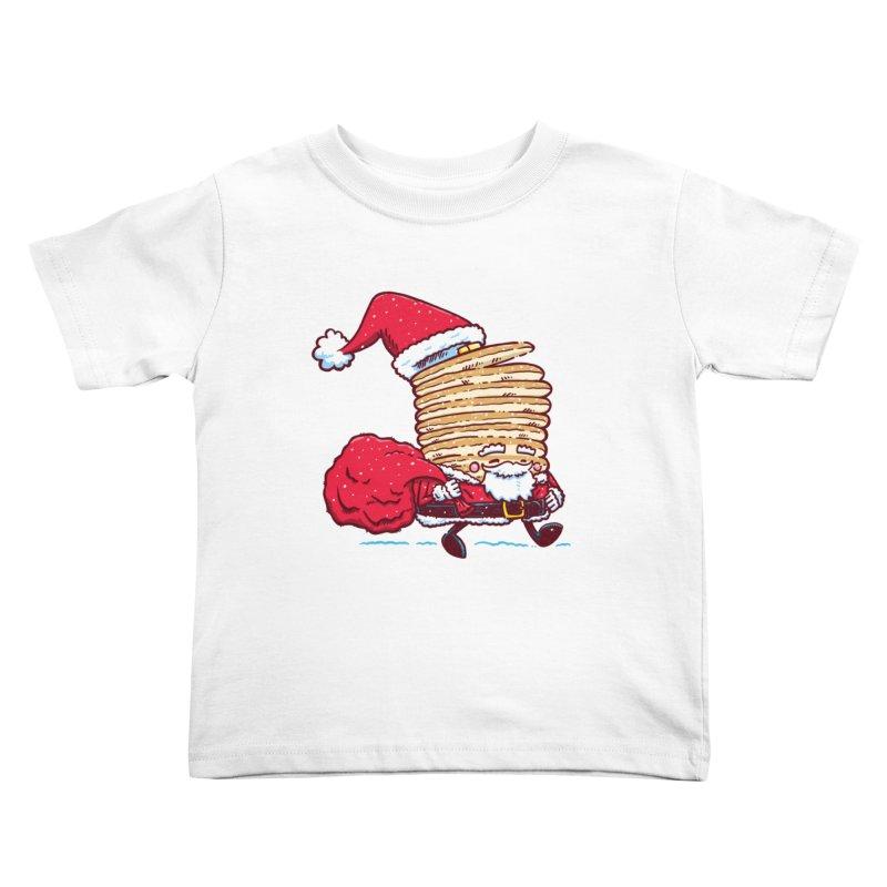 Santa Pancake Kids Toddler T-Shirt by nickv47