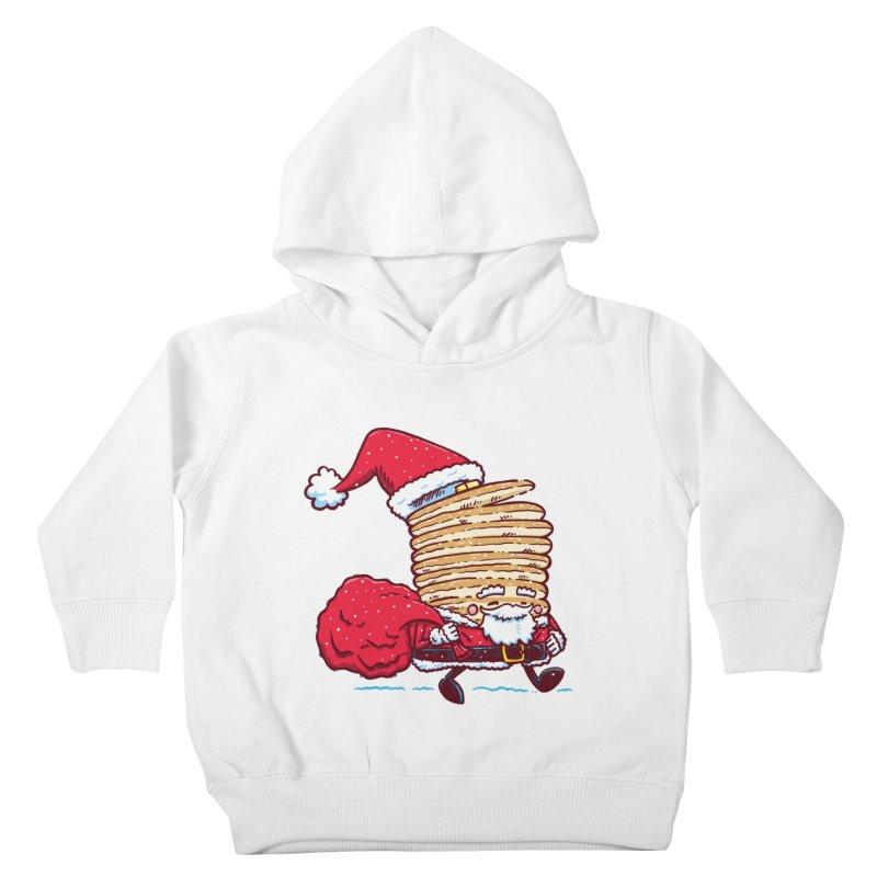 Santa Pancake Kids Toddler Pullover Hoody by nickv47