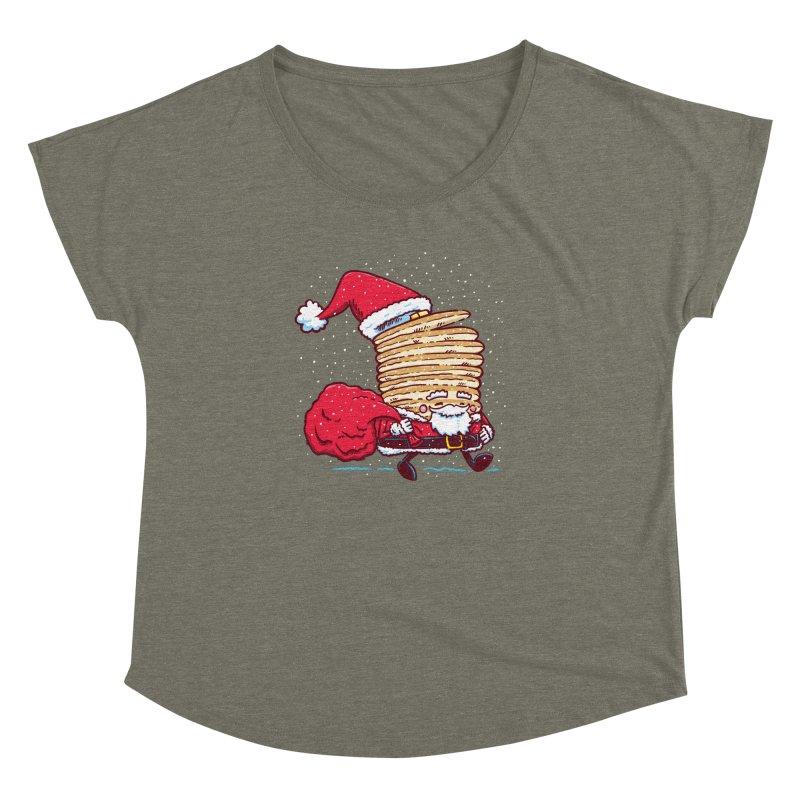 Santa Pancake Women's Dolman by nickv47