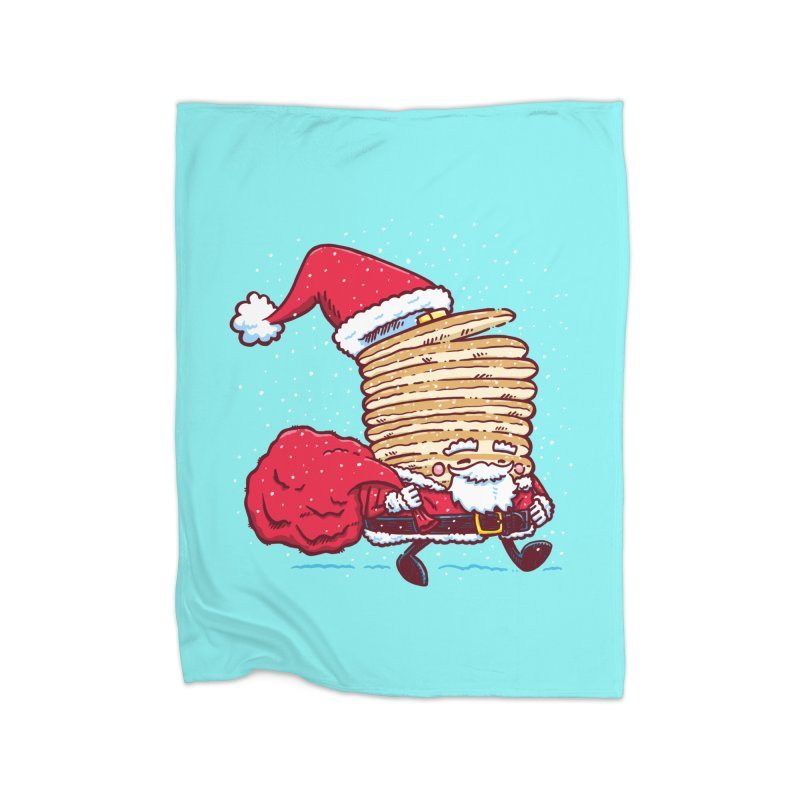 Santa Pancake Home Blanket by nickv47