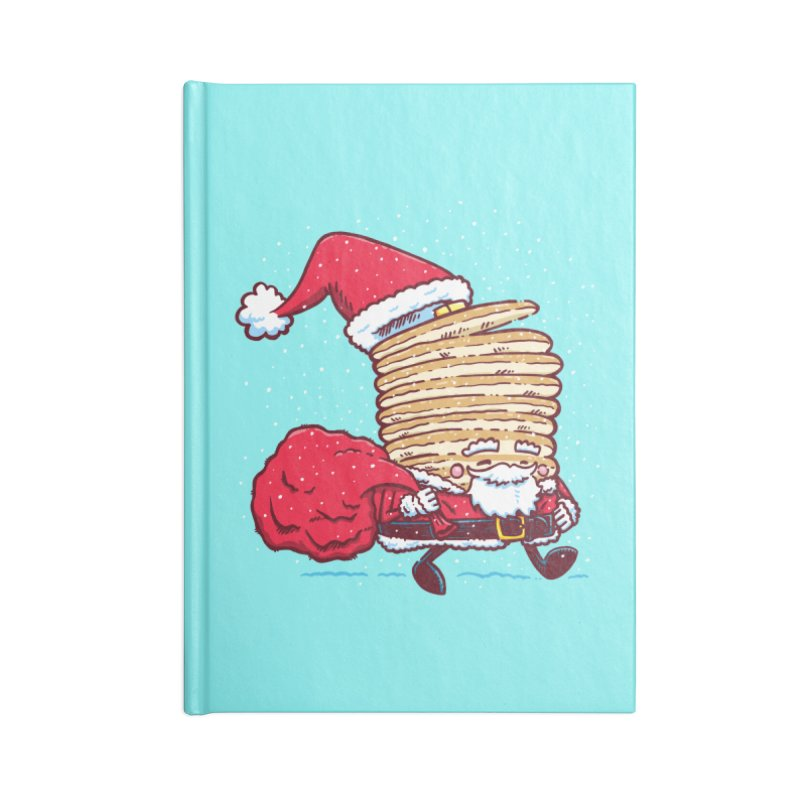Santa Pancake Accessories Notebook by nickv47