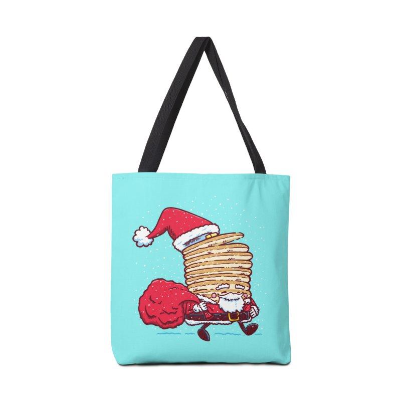 Santa Pancake Accessories Bag by nickv47