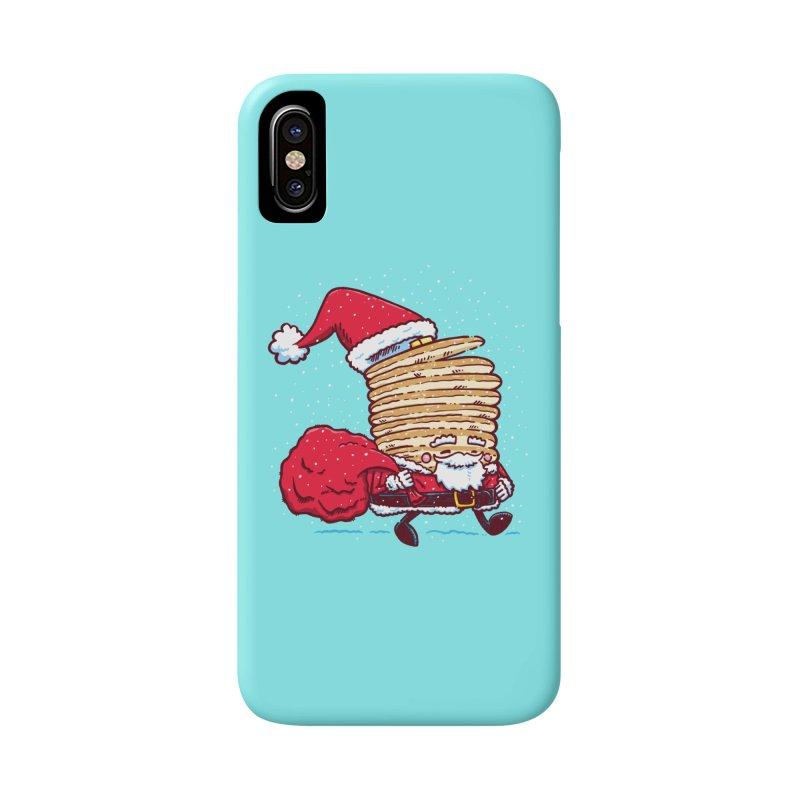 Santa Pancake Accessories Phone Case by nickv47