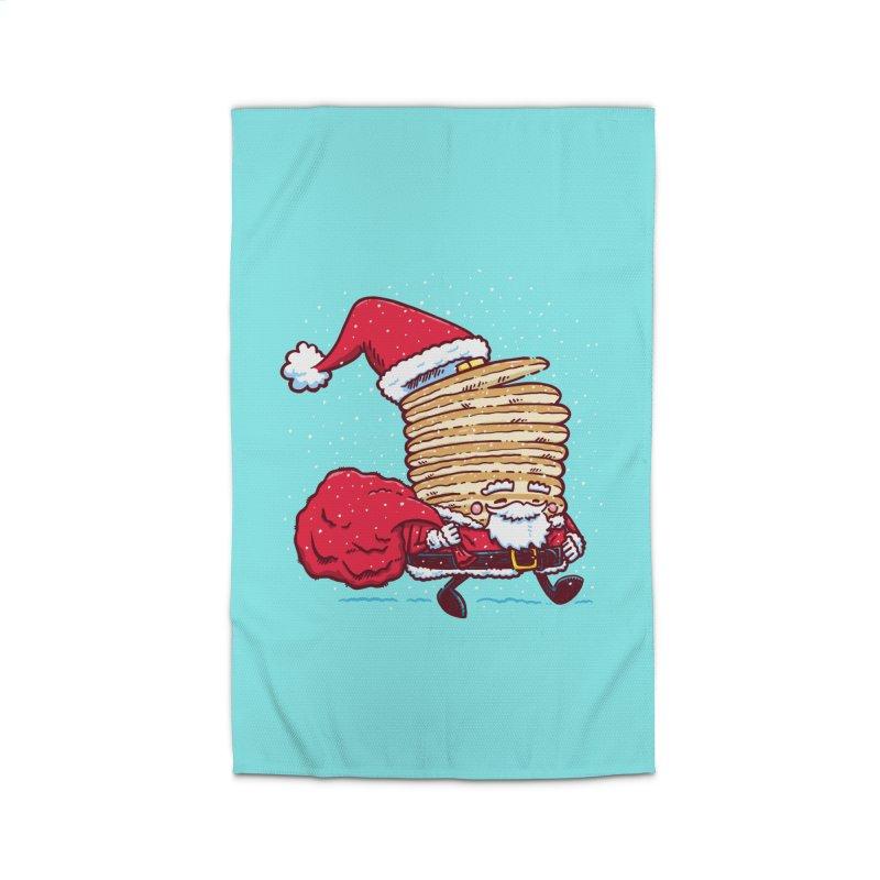 Santa Pancake Home Rug by nickv47