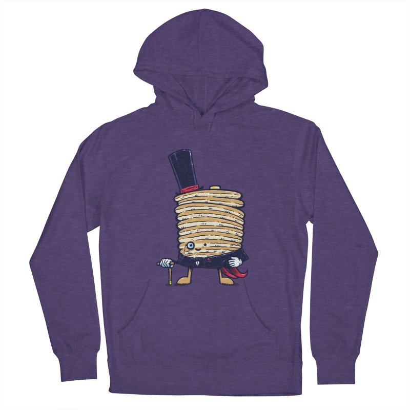 Fancy Captain Pancake Men's Pullover Hoody by nickv47