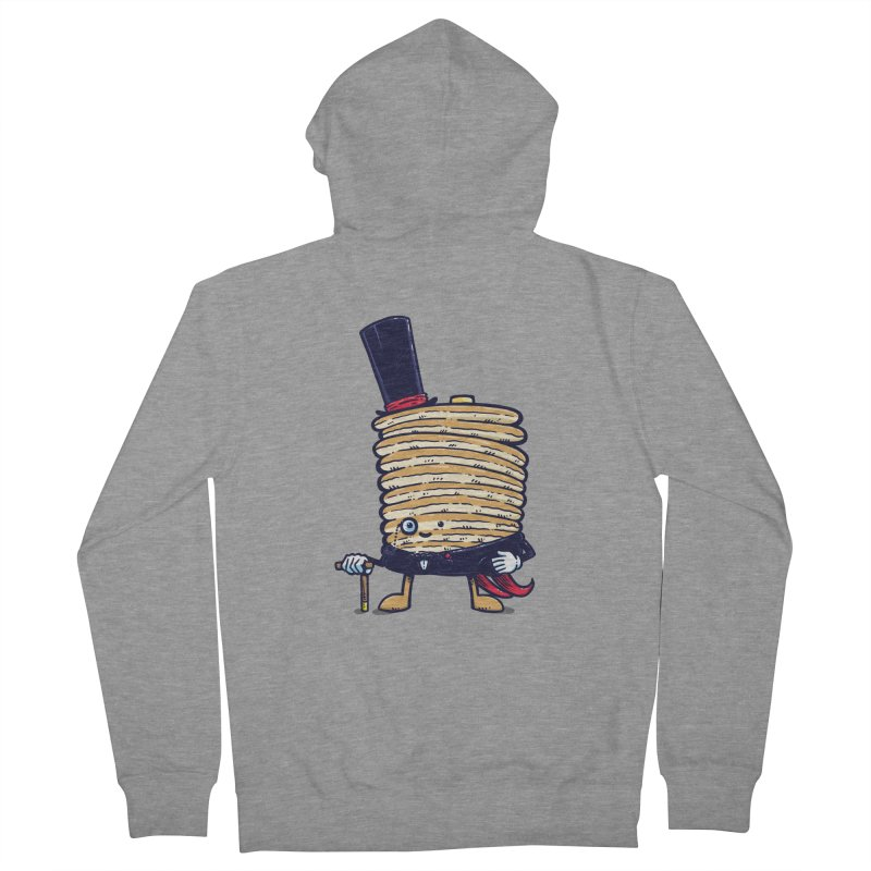 Fancy Captain Pancake Women's Zip-Up Hoody by nickv47