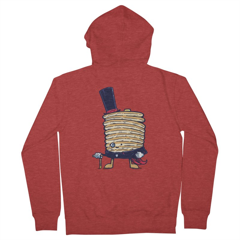 Fancy Captain Pancake Men's Zip-Up Hoody by nickv47