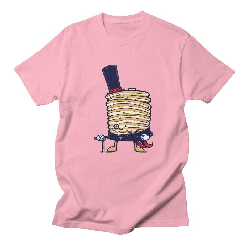 Fancy Captain Pancake Men's T-Shirt by nickv47