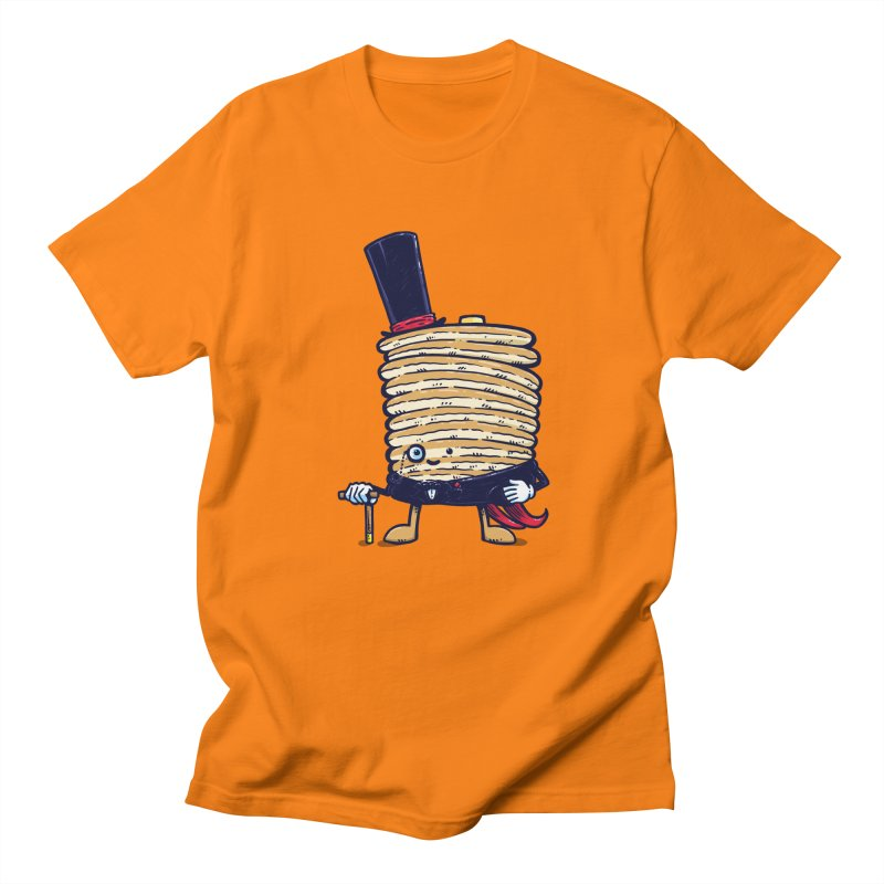 Fancy Captain Pancake Men's T-Shirt by nickv47