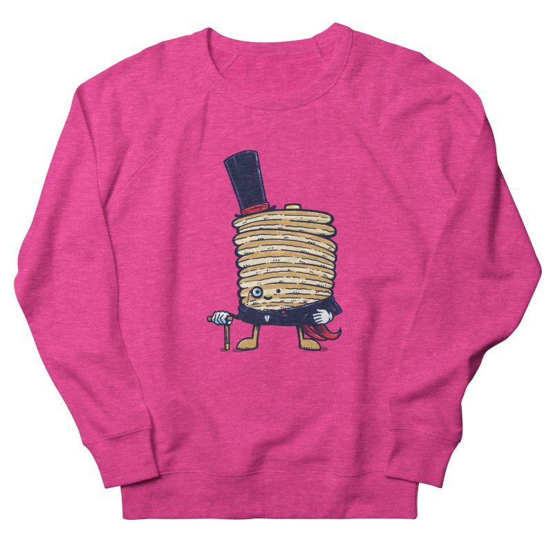 Fancy Captain Pancake Women's Sweatshirt by nickv47
