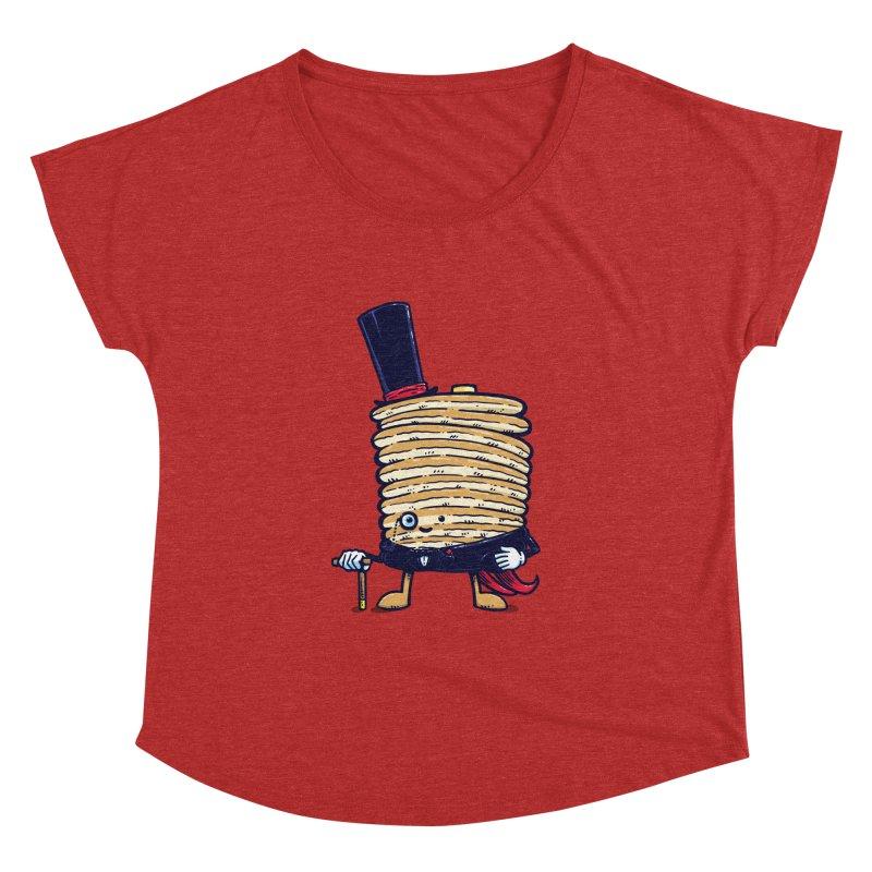 Fancy Captain Pancake Women's Dolman by nickv47