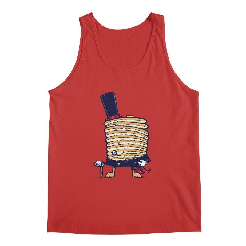 Fancy Captain Pancake Men's Regular Tank by nickv47