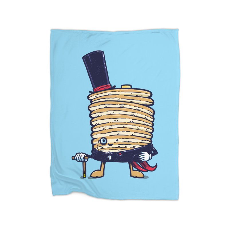 Fancy Captain Pancake Home Blanket by nickv47