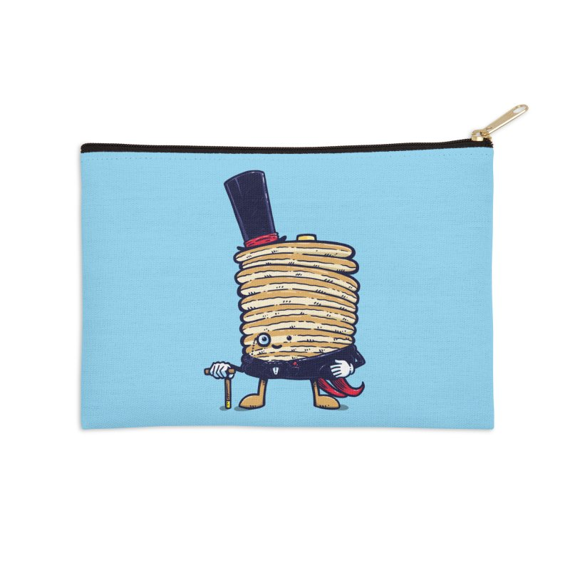 Fancy Captain Pancake Accessories Zip Pouch by nickv47