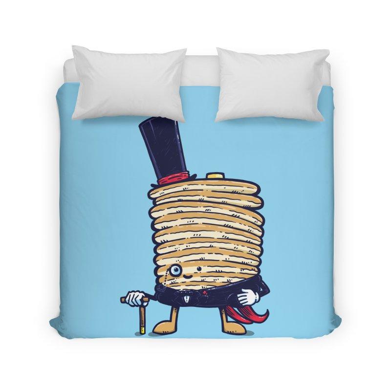 Fancy Captain Pancake Home Duvet by nickv47