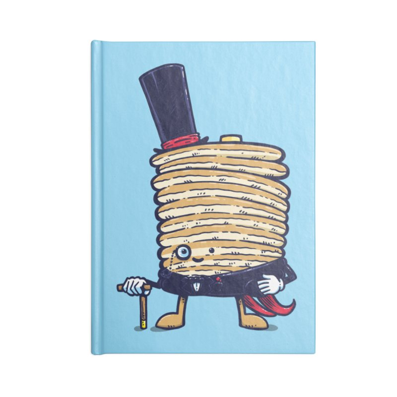 Fancy Captain Pancake Accessories Notebook by nickv47