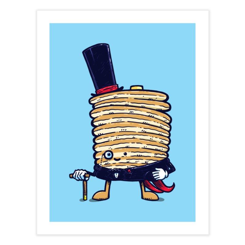 Fancy Captain Pancake Home Fine Art Print by nickv47