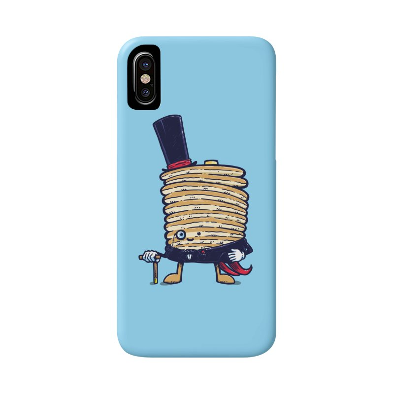 Fancy Captain Pancake Accessories Phone Case by nickv47