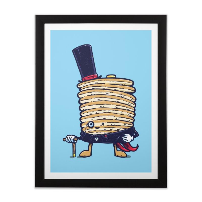 Fancy Captain Pancake Home Framed Fine Art Print by nickv47