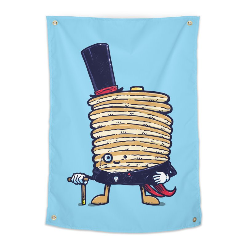 Fancy Captain Pancake Home Tapestry by nickv47