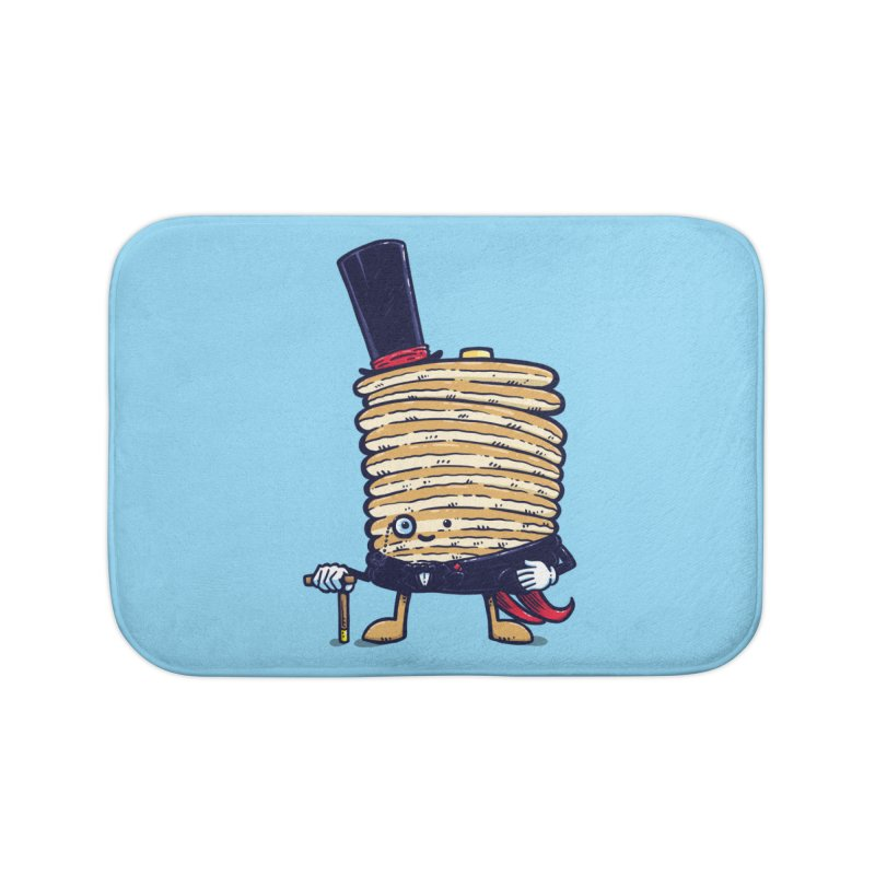 Fancy Captain Pancake Home Bath Mat by nickv47