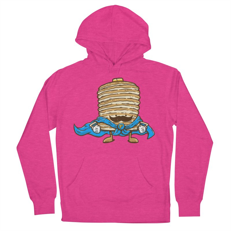 Captain Pancake's Mustache Men's Pullover Hoody by nickv47