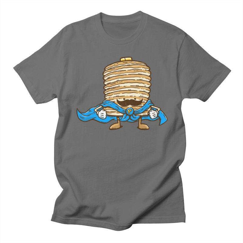 Captain Pancake's Mustache Men's T-Shirt by nickv47