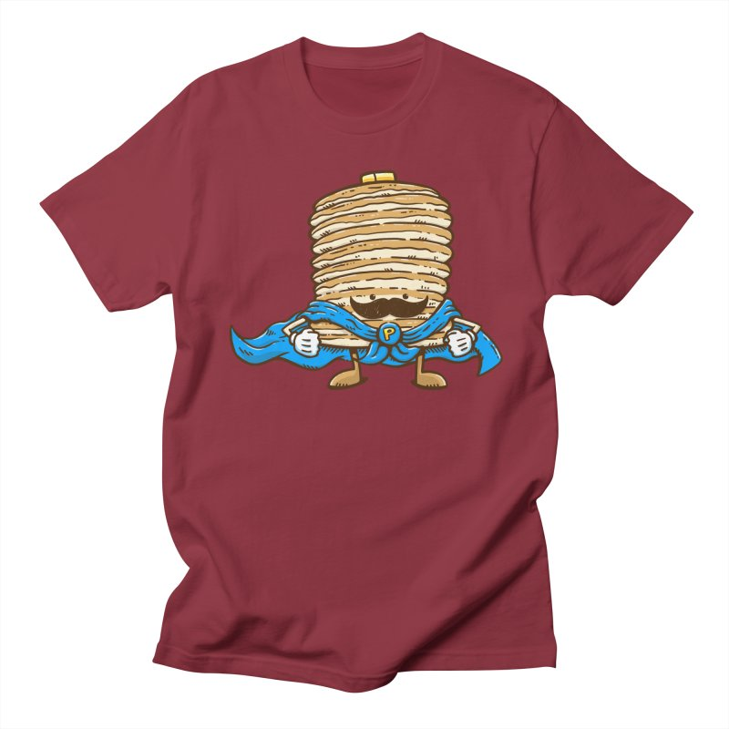 Captain Pancake's Mustache Men's T-Shirt by nickv47