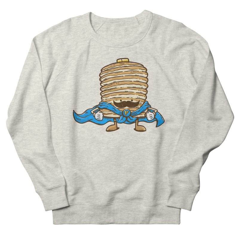 Captain Pancake's Mustache Women's Sweatshirt by nickv47