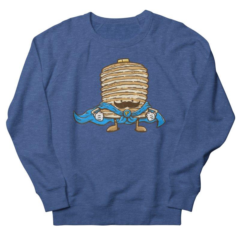Captain Pancake's Mustache Men's Sweatshirt by nickv47