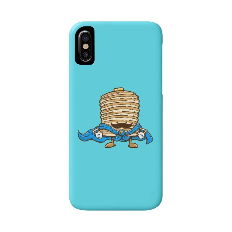 Captain Pancake's Mustache Accessories Phone Case by nickv47