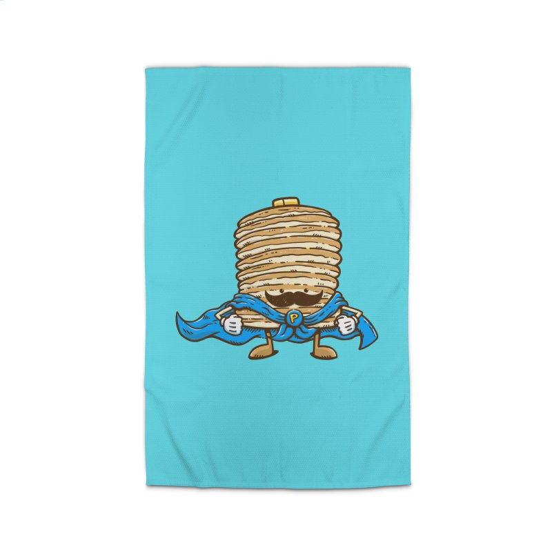 Captain Pancake's Mustache Home Rug by nickv47