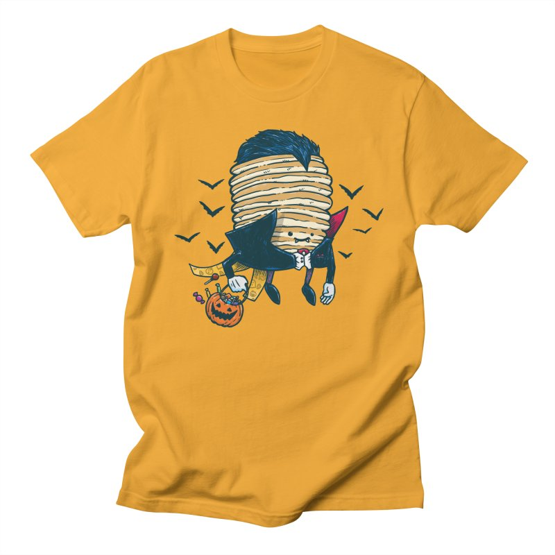 Spooky Pancake Men's T-Shirt by nickv47