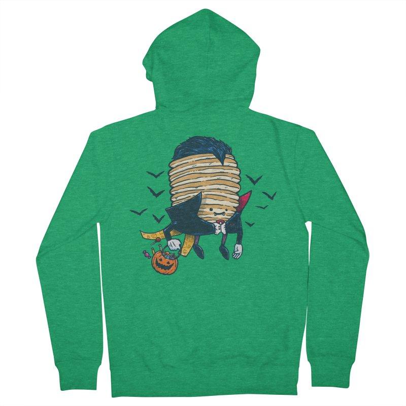 Spooky Pancake Men's Zip-Up Hoody by nickv47