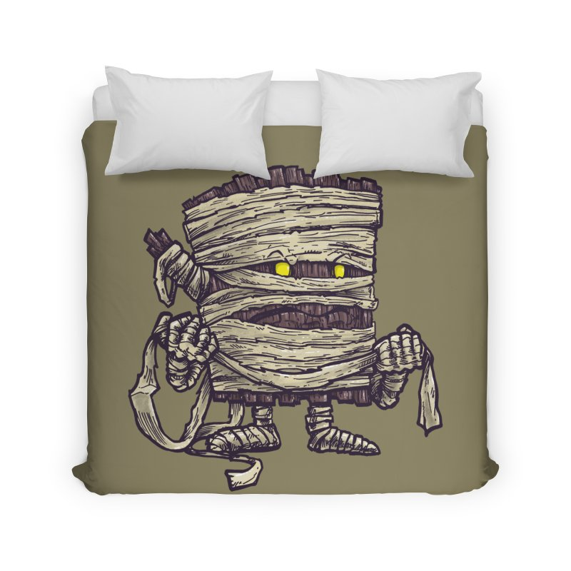 The Mummy Log Home Duvet by nickv47