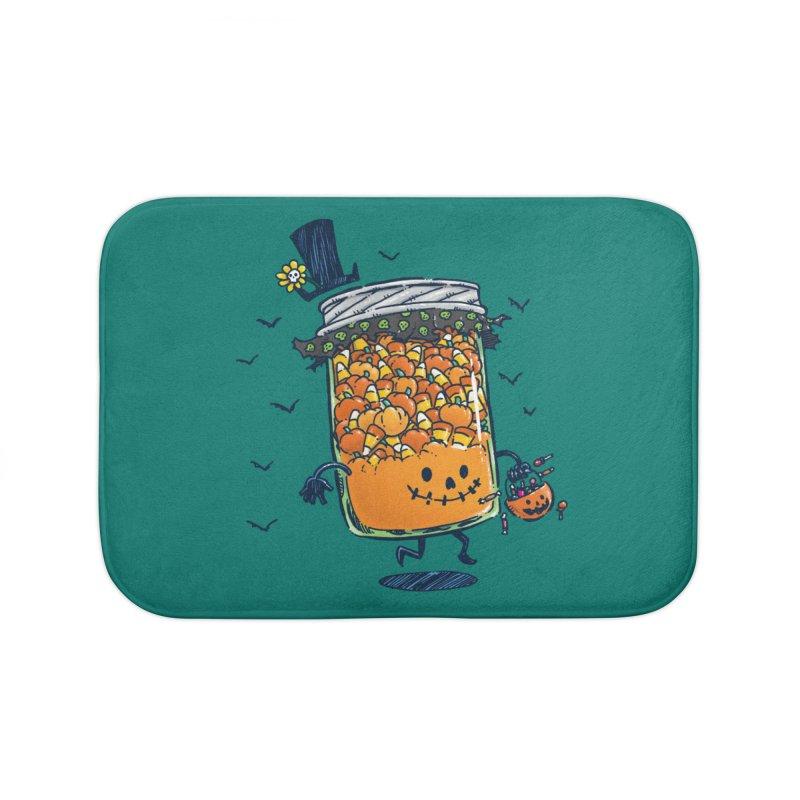 Halloween Jam Home Bath Mat by nickv47