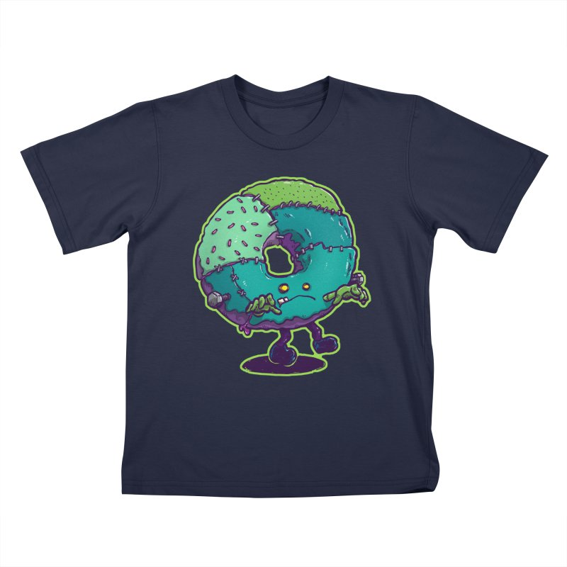 Composite Donut Kids T-Shirt by nickv47