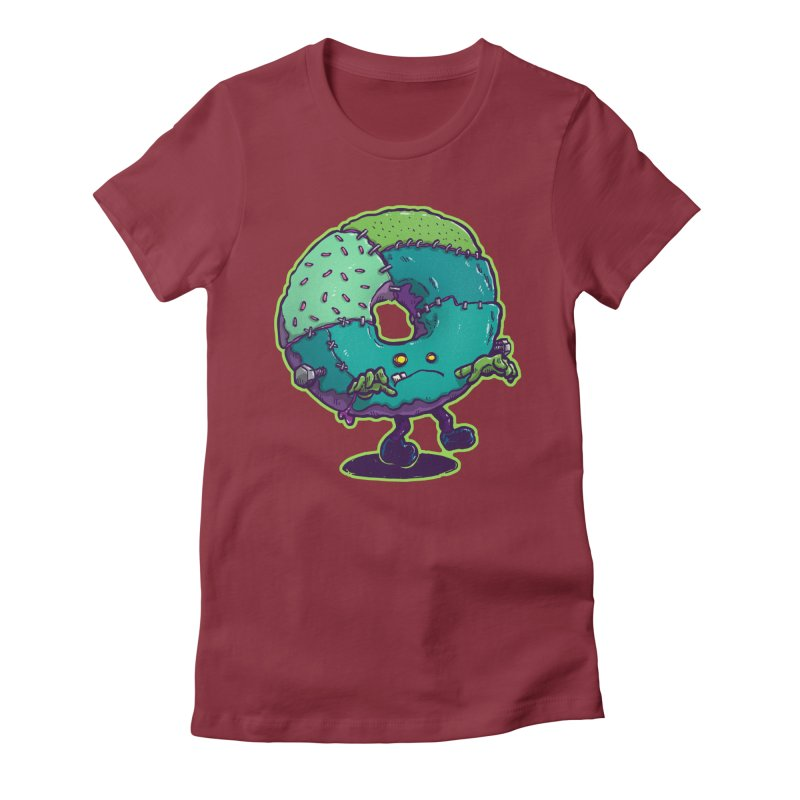 Composite Donut Women's T-Shirt by nickv47