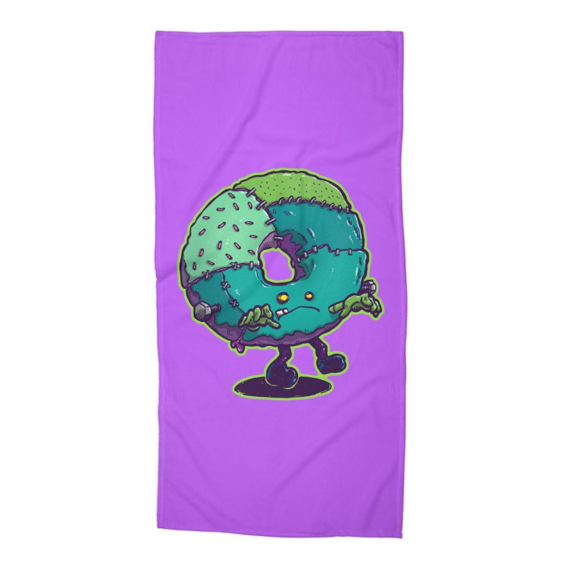Composite Donut Accessories Beach Towel by nickv47