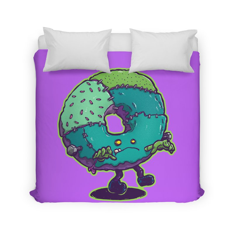 Composite Donut Home Duvet by nickv47