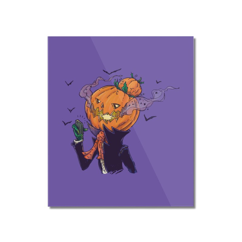 The Pumpkin Bun Home Mounted Acrylic Print by nickv47
