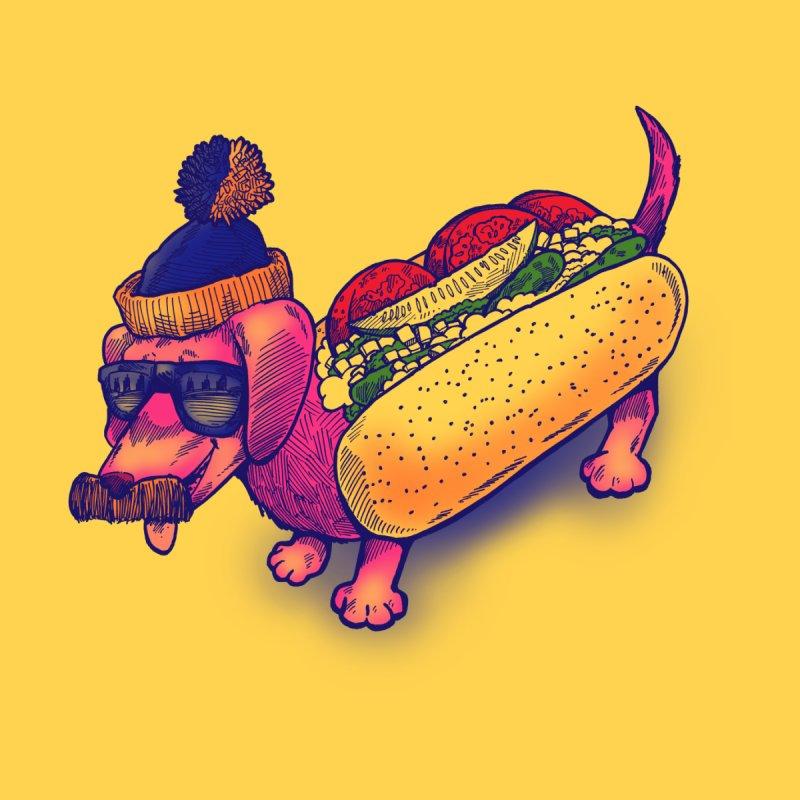 Da Chicago Dog Men's T-Shirt by nickv47