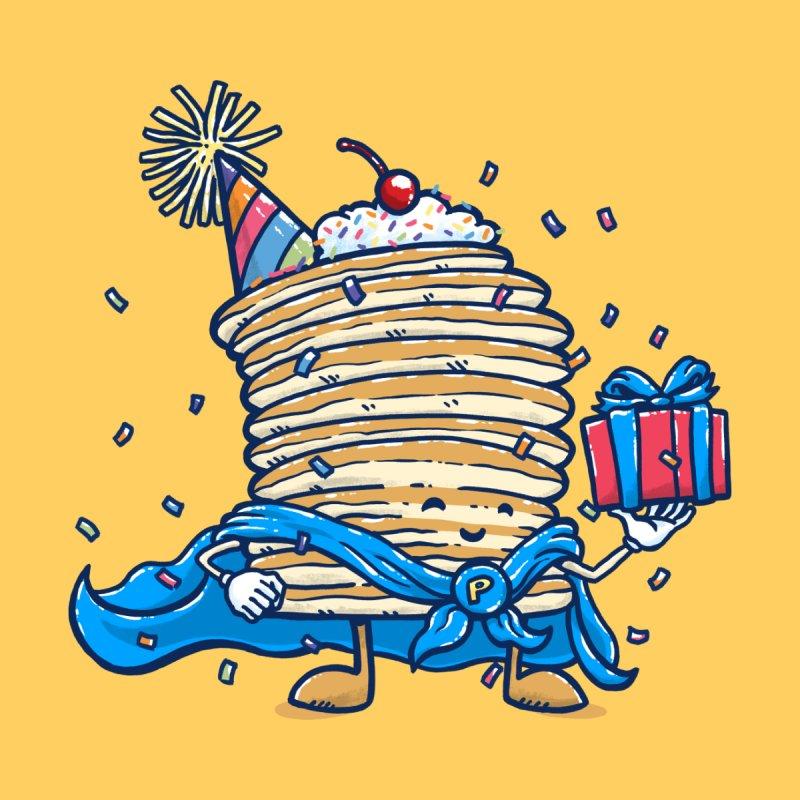 Captain Birthday Pancake Men's T-Shirt by nickv47